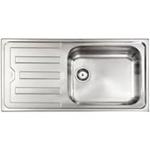 Articolo 011545d lavello da incasso mondial in acciaio for Selloni virgilio termoidraulica e arredo bagno roma rm