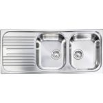 Articolo 011547dx lavello mondial in acciaio inox da for Selloni virgilio termoidraulica e arredo bagno roma rm