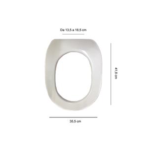 Articolo s414p02 copri wc per ideal standard fiorile for Copri wc ideal standard
