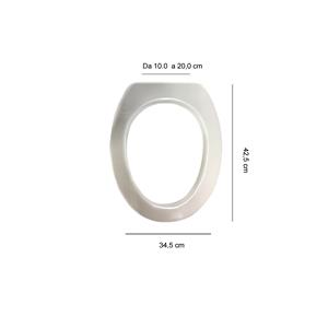 Articolo s365p18 copri wc per ideal standard ellisse for Ellisse ideal standard