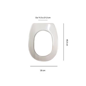 Articolo s415p02 copri wc per ideal standard liuto for Copri wc ideal standard